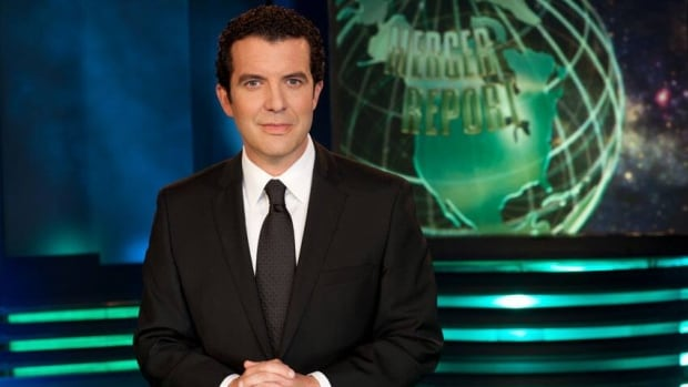 "Rick Mercer calls his three-year deal with CBC ""a three-year deal to do my dream job."""