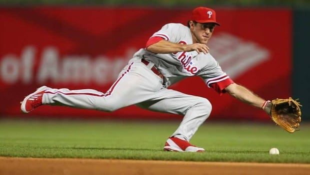 Philadelphia Phillies second baseman Chase Utley is hitting .275 with 15 homers and 42 RBIs this year.