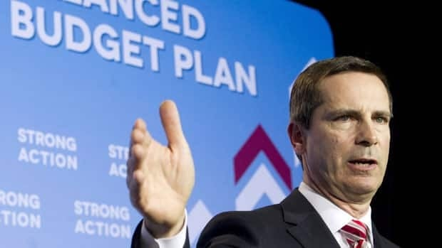 Ontario Premier Dalton McGuinty says revenues from the new tax will go to fight the $15- billion deficit.