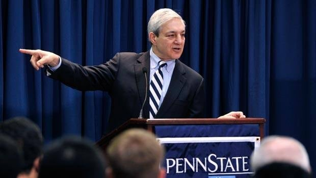 Graham Spanier, seen last year before the scandal became public, served as Penn State president for 16 years.