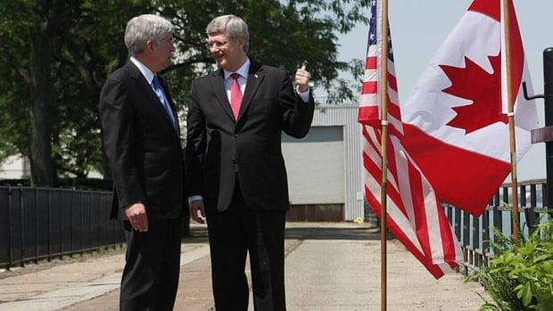 Prime Minister Stephen Harper and Michigan Governor Rick Snyder agreed to a new bridge last week.
