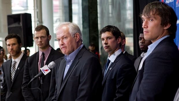 NHLPA executive director Donald Fehr and hundreds of pro players are in New York this week.