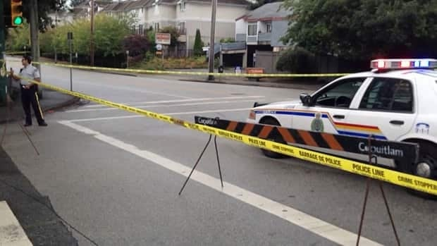 Homicide investigators say Joey Lamont Arrance was killed in a targeted gang shooting in Coquitlam on Tuesday.