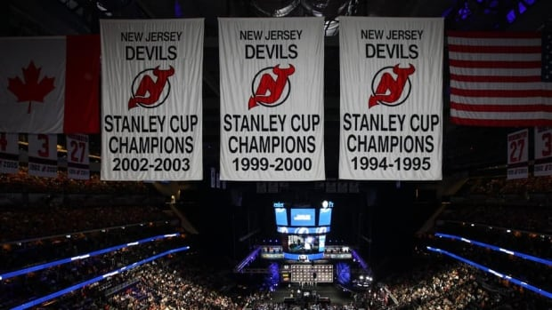 A view of the inside of the arena during the 2013 NHL Draft at the Prudential Center on June 30, 2013 in Newark, New Jersey.