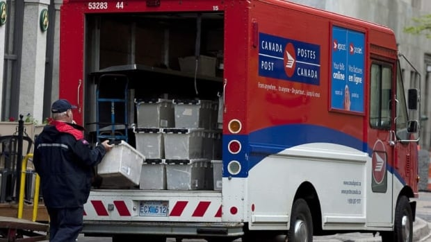 Canada Post said Tuesday that efforts made to cut costs and streamline operations were not enough to balance out lower mail volumes, resulting in a pre-tax loss of $104 million in the second quarter.