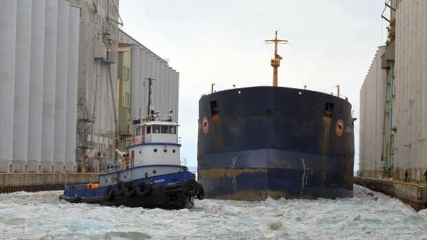 Only three ships remain to be loaded at the Thunder Bay port, before the end of this shipping season.