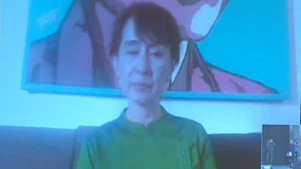Aung San Suu Kyi speaks