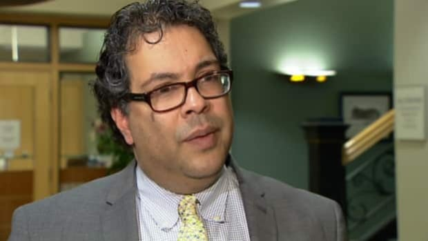 Calgary Mayor Naheed Nenshi is in Ottawa for the Big City Mayors' Caucus where housing and the Building Canada Fund are on the agenda. (CBC)