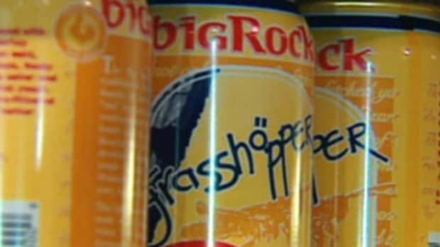 Big Rock Brewery's Grasshopper Wheat Ale is one its most popular offerings.