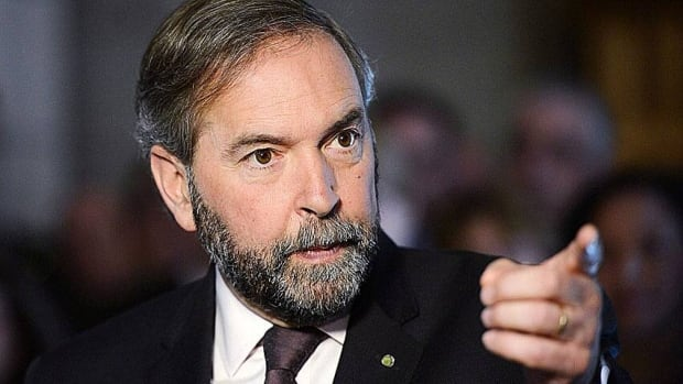 Official Opposition leader Tom Mulcair and the federal NDP are in Saskatoon for a two day caucus retreat.