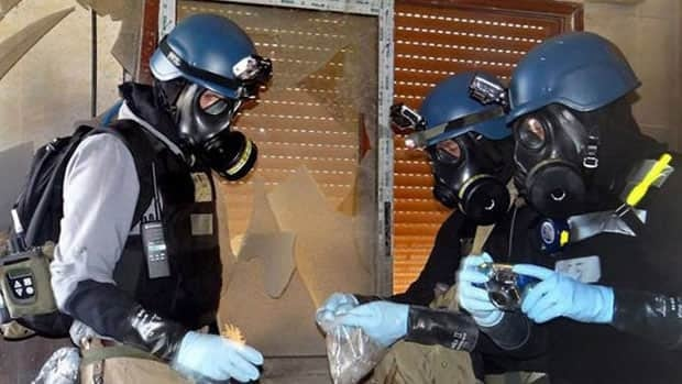 Syria is believed by experts to have 1,000 tonnes of chemical warfare agents scattered over several dozen sites across the country, and just getting them transferred while fighting rages presents a logistical and security nightmare.