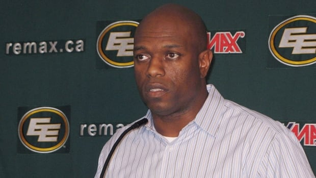 Edmonton Eskimos general manager Ed Hervey singled out guard Simeon Rottier at a news conference last Tuesday.