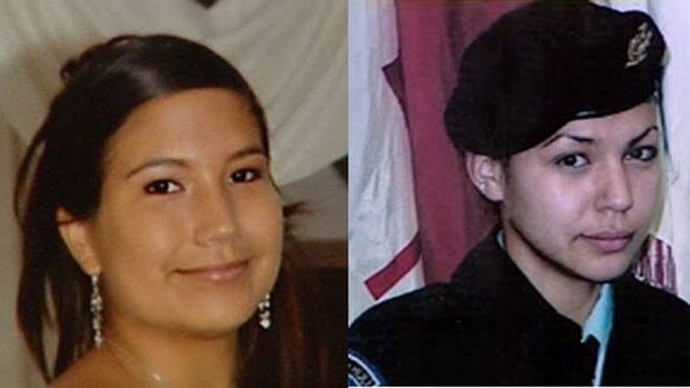 Maisy Odjick, left, and Shannon Alexander, right, haven't been seen or heard from since they went missing from Maniwaki, Que., in September 2008.