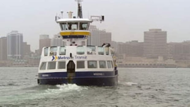 More than 12,800 votes were cast online for the naming of the new ferry.