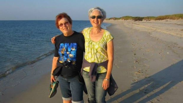 A.C. Crispin, left, and Victoria Strauss, co-founders of Writer Beware, a website that alerted authors to literary scams. Crispin died of cancer on Friday.