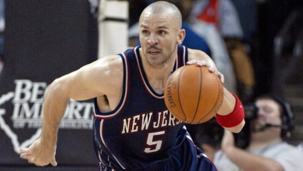 Jason Kidd led the New Jersey Nets to the 2002 and 2003 NBA Finals and is their career leader in numerous statistical categories.