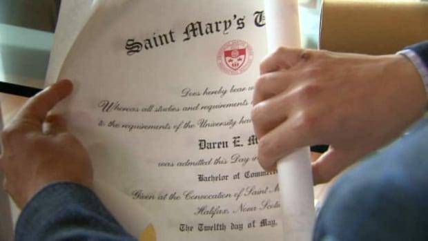 Daren Miller earned two degrees from Saint Mary's University.