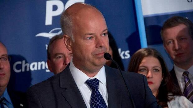 Party Leader Jamie Baillie released the Progressive Conservatives' campaign platform on Wednesday.