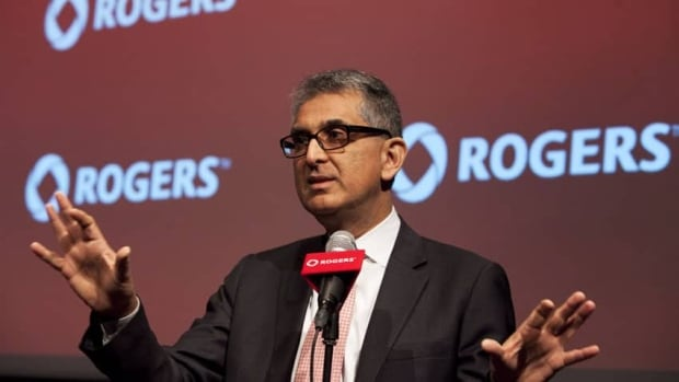 Nadir Mohamed, president and CEO of Rogers Communications Inc., is stepping down and Vodafone U.K. CEO Guy Laurence will take his place at yearend.