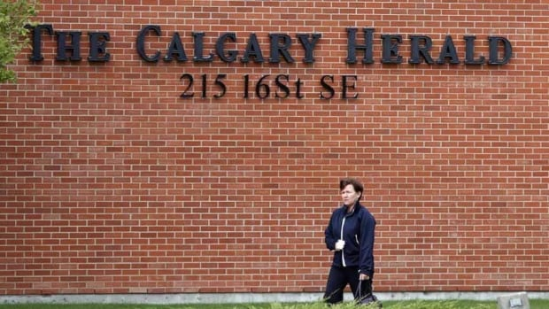 Postmedia, which owns the Calgary Herald, is cutting 90 positions across the country.