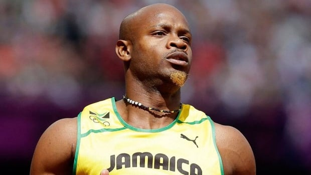 The B, or backup, doping tests for sprinter Asafa Powell, shown here, and Jamaican teammate Sherone Simpson came back positive.