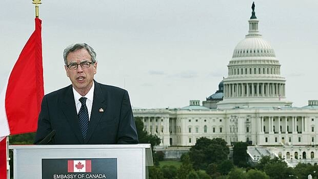 Natural Resources Minister Joe Oliver was in Washington on Monday to meet with U.S. Energy Secretary Ernest Moniz. Oliver says a proposal by Canada to take a joint approach on energy and environmental policy has received an 'enthusiastic' response from the United States.