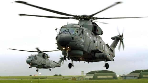 The Royal Navy's Fleet Air Arm in Britain flies the Merlin Mk 2 AW 101, formerly the EH 101 Cormorant, which Canada once rejected but now is considering as a replacement for its aging Sea King helicopters.