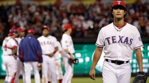 Shortly after pitcher Yu Darvish was replaced in the AL wild-card game against the Baltimore Orioles last October, the Texas Rangers would go on to be eliminated from the playoffs. The Rangers struggled down the stretch last year and have found themselves in the same spot this season.