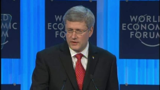 Harper's Davos speech