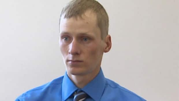 Colin Matchim, seen during a court appearance earlier this year, is no longer considered guilty of aggravated assault.