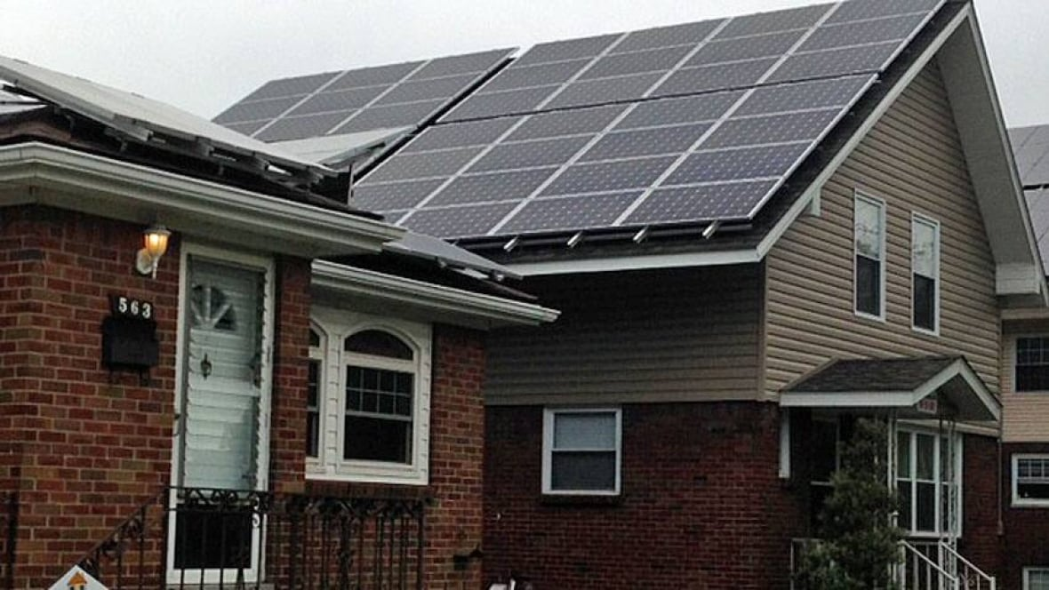 Rooftop Solar Panels Pose Dangers Ontario Firefighters