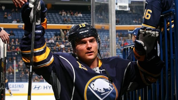 Cody Hodgson will be wearing No. 19 for the Buffalo Sabres for the foreseeable future after re-signing with the team on a multi-year deal on Wednesday.