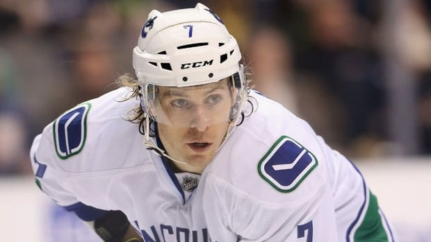 Vancouver Canucks forward David Booth was limited to 12 games in the NHL's lockout-shortened season because of injuries.