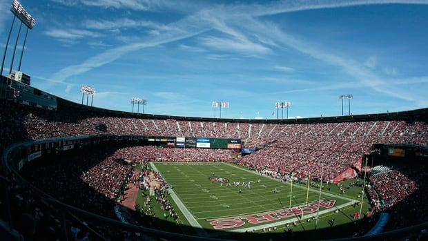 Candlestick Park is where 32-year-old football fan Kevin Hayes died from a fall on Sunday.