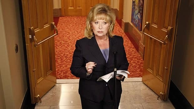 Senator Pamela Wallin, seen here in August 2013, has been asked to repay more than $100,000 in disputed travel expenses.