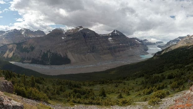 A 54-year-old Massachusetts man was heading towards the summit of Parker Ridge near the Columbia Icefield when he went missing.