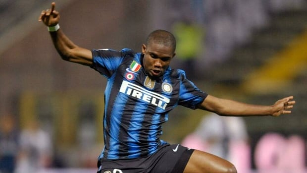 Samuel Eto'o won two African Cups and an Olympic gold medal with Cameroon and was voted Africa's player of the year four times.