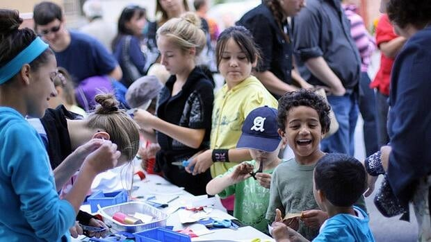 The Supercrawl family zone is full of things for kids to do this weekend.