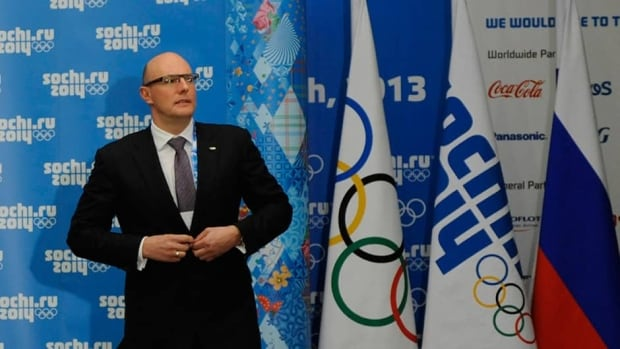 "Sochi organizing chief Dmitry Chernyshenko says the anti-gay law recently passed in Russia  doesn't prohibit homosexuality in any way and says it ""doesn't contradict any element of the Olympic Charter."""