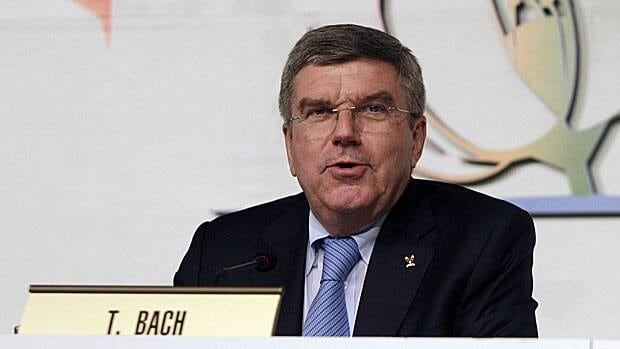 Thomas Bach, newly minted as IOC president, said the organization must be apolitical while protecting the athletes.