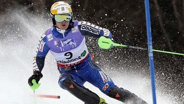 Jens Byggmark has finished in the Top 10 in the World Cup season slalom standings three times.