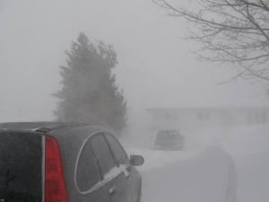 High winds and snow in N.L.