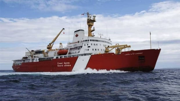 The nearly 50-year-old Canadian Coast Guard Ship Louis St-Laurent, Canada's only large icebreaker, is due for yet another refit at the Davie yard. The yard is offering to replace it, but the federal government says it won't accept 'unsolicited' bids.