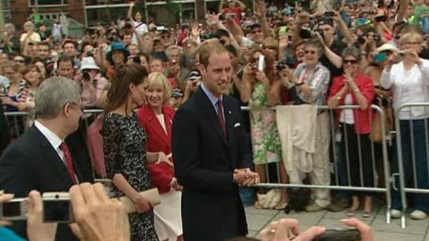 Royal visit starts