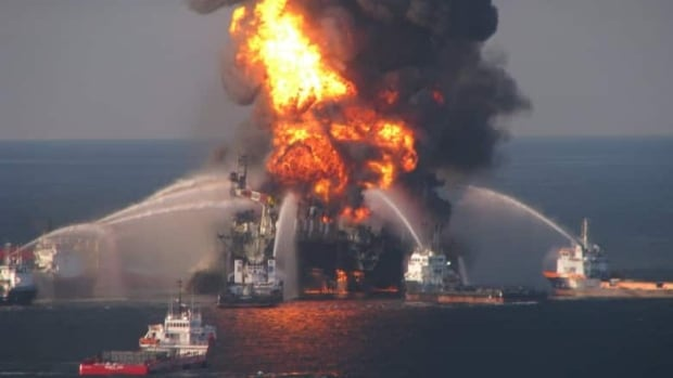 The April 2010 explosion at British Petroleum's Deepwater Horizon offshore rig killed 11 workers.