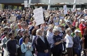 Anti-HST rally