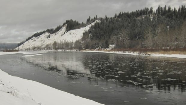 The Nechako river, in the heart of the nation's traditional territory, was severely affected when the Kenney dam was built to power Rio Tinto's smelter in Kitimat.