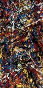 1952 abstract by Riopelle