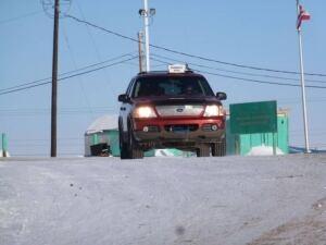 Nunavut Caribou Cab drivers
