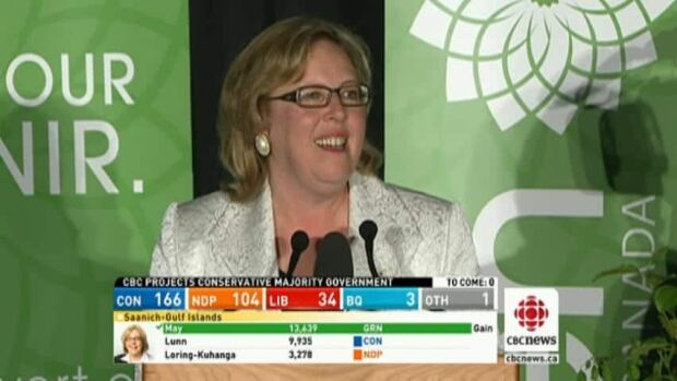 May heads to Ottawa